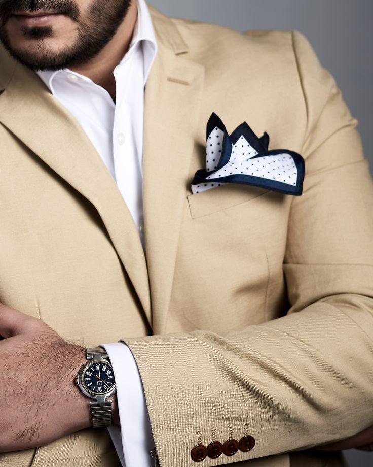 Fashion classics Shirt : Van Heusen Jacket : Next Pocket Square : Topman Watch : Dunhill  Copyright Irfan Intekhab #irfanintekhab #fashion #classic