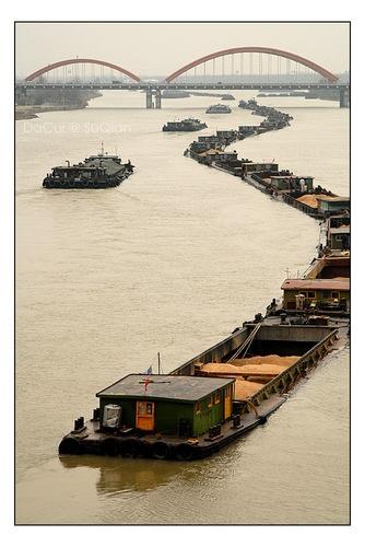 Beijing-Hangzhou Grand Canal, Suqian, Jiangsu, China