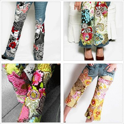 hand painted jeans! These are actually kinda cool!