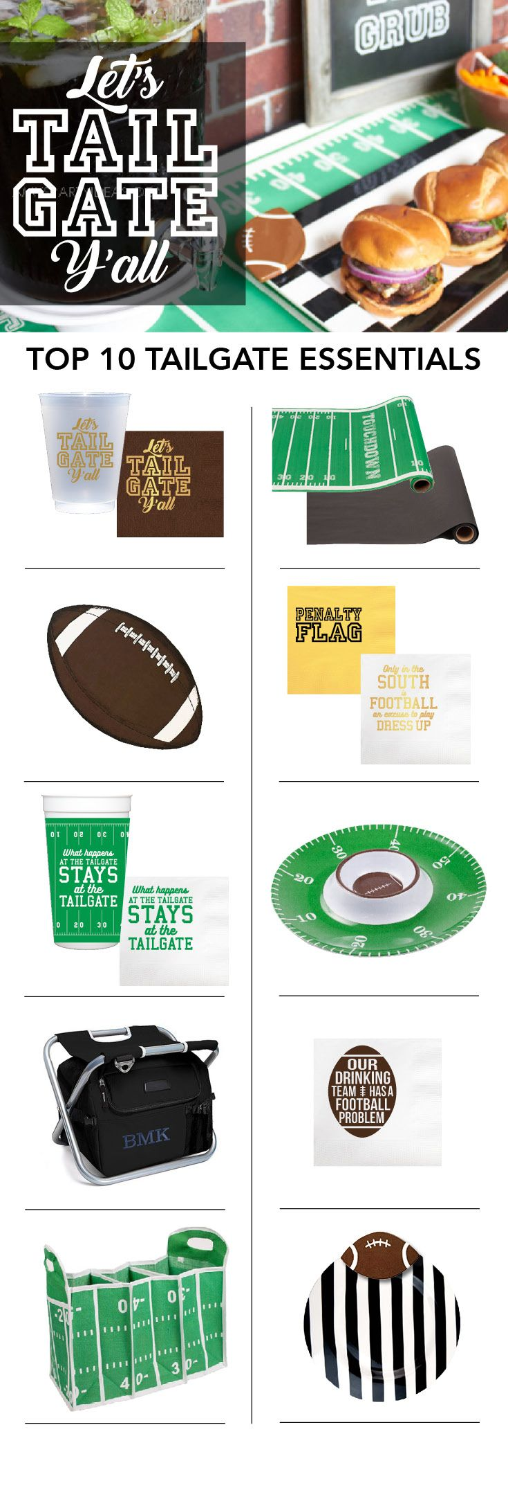 Shop our top tailgate party essentials online now!