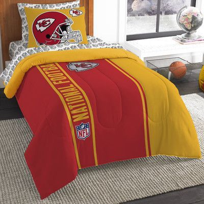 Northwest Co. NFL Chiefs Comforter Set Size: Twin