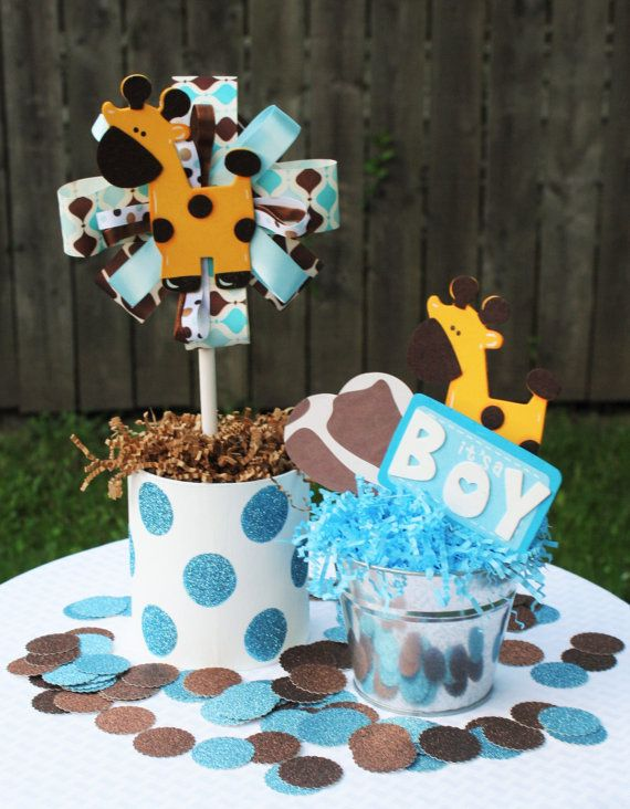 baby shower giraffe giraffe party centerpieces baby showers giraffe