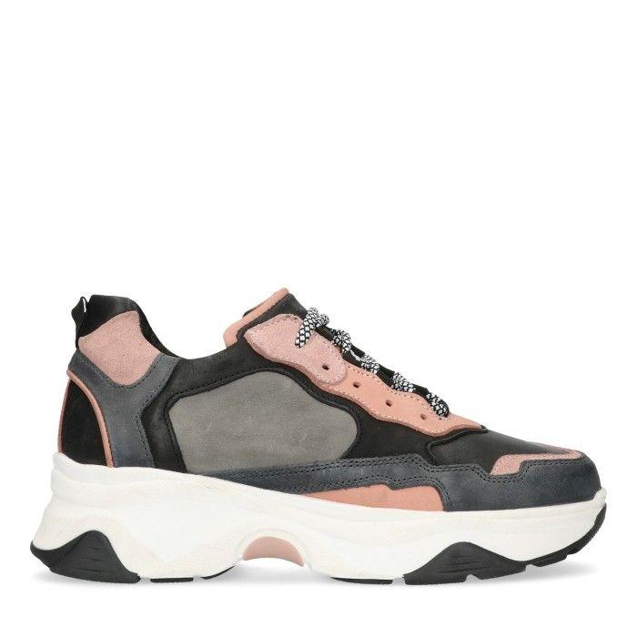Dad sneakers grijs/roze | Sneaker, Schoenen dames, Schoenen