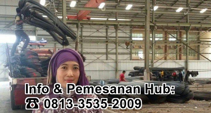 Produk Besi Beton kami di Gudang Surabaya