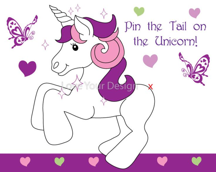 pin the tail on the donkey pdf
