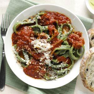 Homemade Pasta Recipe from Taste of Home :: http://pinterest.com/taste_of_home/