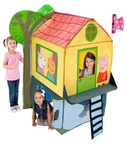 Peppa Pig Tree House Play Tent