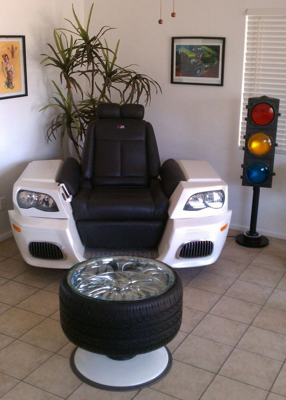 What Is Man Cave Furniture : Best car part art images on pinterest parts