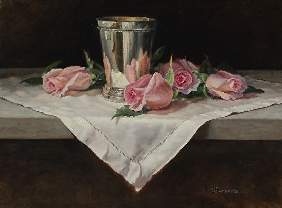 "Rosebuds by Susan Paterson Oil ~ 9"" x 12"""