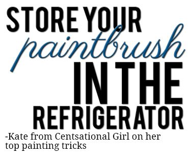 Roundup of the BEST painting tricks and shortcuts from top home bloggers!
