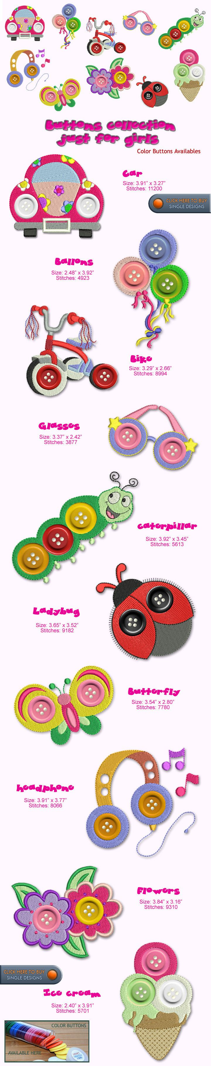 GIRL Embroidery Designs Free Embroidery Design Patterns Applique