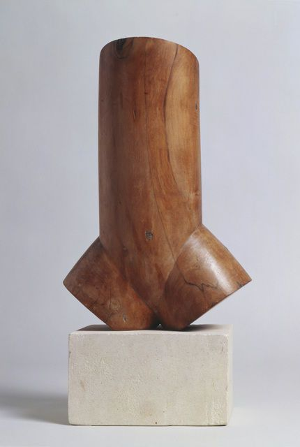 Constantin Brancusi . torso of a young man, 1923
