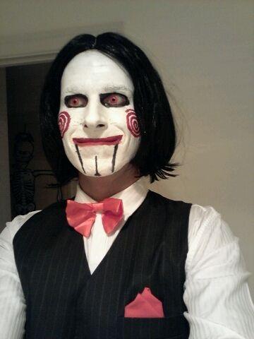 Best 25+ Jigsaw Makeup Ideas On Pinterest | Jigsaw Halloween Jigsaw Halloween Costume And ...