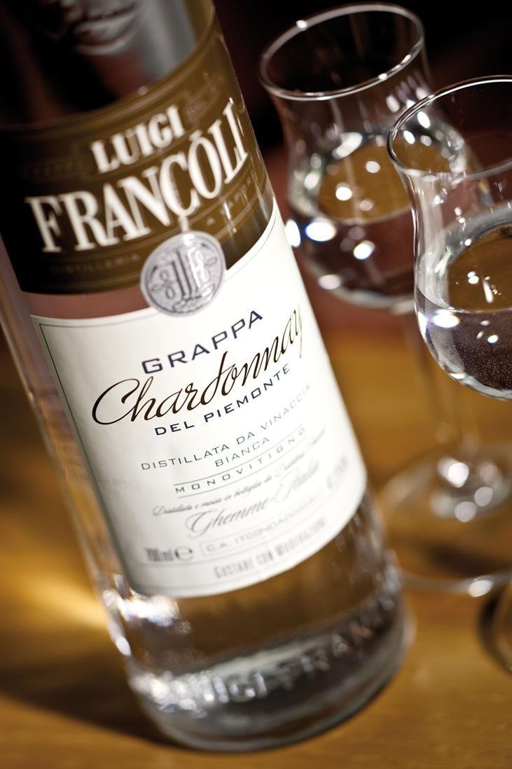 Grappa Luigi Francoli Chardonnay del Piemonte #grappa #grappafrancoli