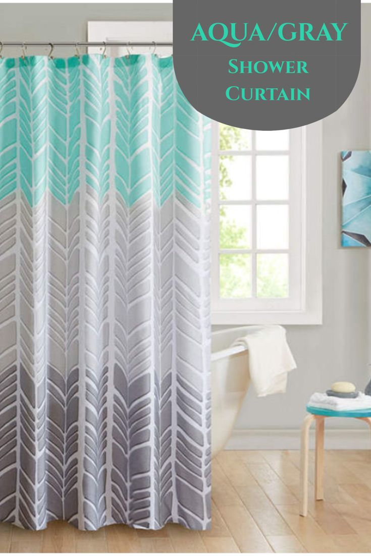 Pretty Shower Curtain Too I Think Will Be Painting The Bathroom Gray Soon Intelligent Design Kennedy Microfiber