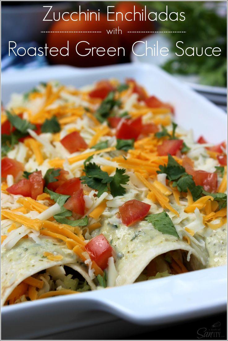 Blue apron zucchini enchilada - Zucchini Enchiladas With Roast Green Chile Sauce