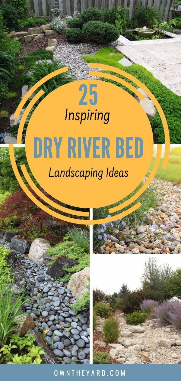 25 Inspiring Dry River Bed Landscaping Ideas in 2019 – Paula Sára