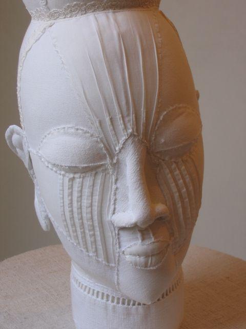 Textile sculptures by Karine Jollet |