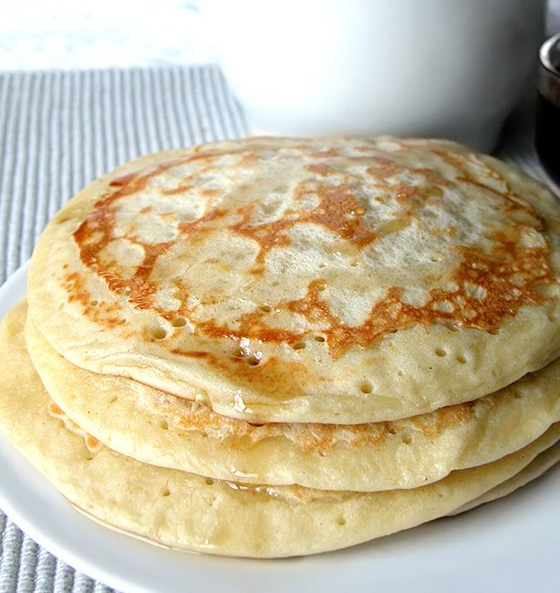 Pancakes di kamut | http://www.ilpastonudo.it/colazione/pancakes-di-kamut/