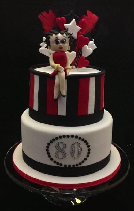 Betty Boop Th Birthday Cakes