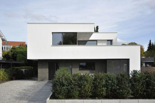 Straßenansicht - Niedrigenergiehaus