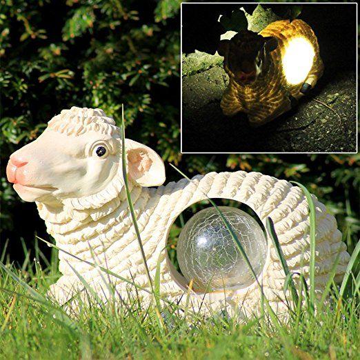 Aussen Led Lamm Schaf Design Garten Leuchte Solar Licht Beleuchtung Tier Deko Lampe Eglo 47856 Garten Ide Solarleuchten Garten Solarlampen Garten Deko Natur