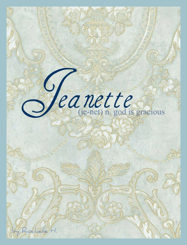Meanings Of Animal Symbols On Tarot Cards: Baby Girl Name: Jeanette. Meaning: God Is Gracious. Origin