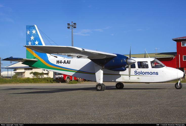 Solomon Airlines- aircraft Britten Norman 2A Islander.