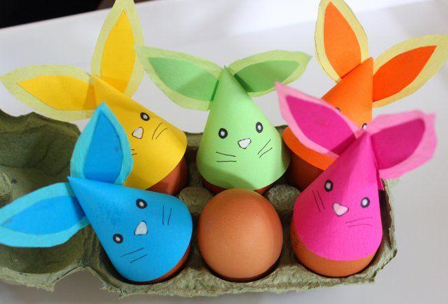 ¿No se comen sus huevos? Prueba esto: Marionetas de papel para dedos #BlogdeBabyCenter