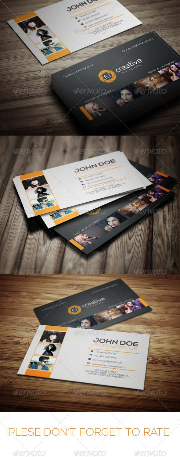 Best 25 photographer business cards ideas on pinterest photographer business card magicingreecefo Image collections