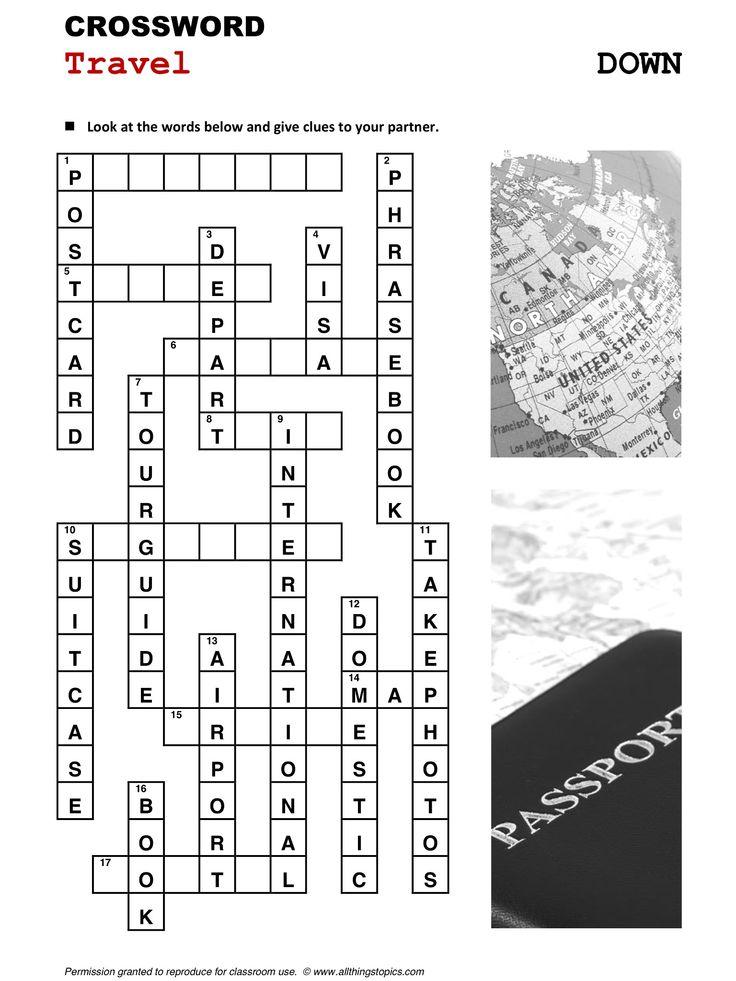 crossword puzzles - American English