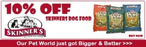 10 % OFF Skinner's Field & Trial Dog Food