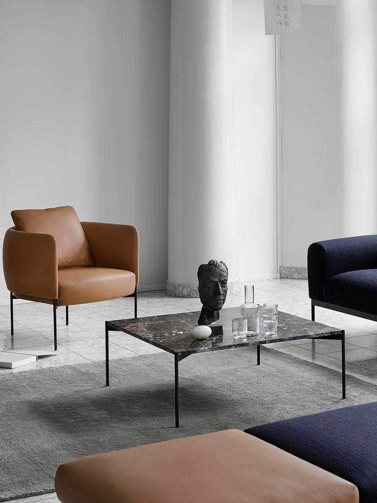 Plateau Table är ett soffbord formgivet av Mats Broberg och Johan Ridderstråle för Adea. Bordsskivan är tillverkad i marmor och stativet i lackad metall. Välj bland 5 utföranden; White Carrara, Green Guatemala, Black Marquinia, Emperador Dark och det senaste tillägget, Grey Billiemi.