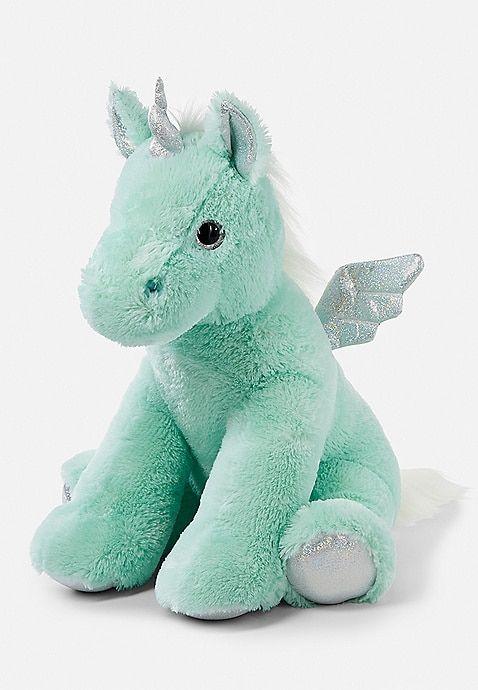 Mint Jumbo Unicorn Plush Justice Unicorns Pinterest Unicorn