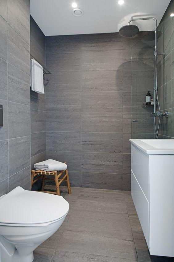 Beautiful Gray Bathrooms The 25 Best Grey Scandinavian Ideas