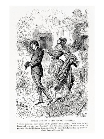 the conflict of pip and estella in great expectations by charles dickens Free essay: self conflict in great expectations througout his novel, dickens explored the constant struggle pip faces as he realizes the dangers of being.