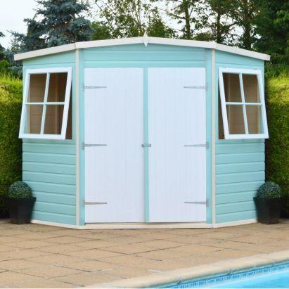 best 25 corner sheds ideas on pinterest corner summer house shed and shed ideas