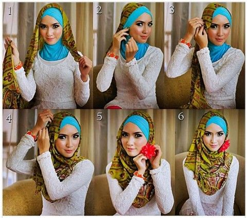 Looking for a different way to style your hijab this spring/ summer?   http://modestmuse.co.za/pretty-as-a-picture/springsummer-look-hijab-tutorial-in-6-steps/