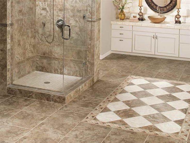 Tile Designs For Bathroom Floors Design ~ http://lovelybuilding.com/black-and-white-tile-designs-for-bathroom-floors/