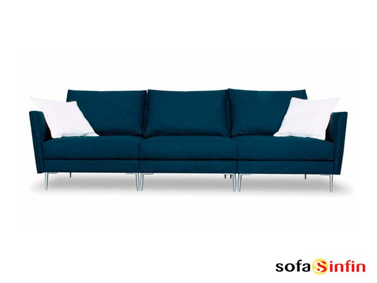 Sofá moderno de 3 y 2 plazas modelo Tomy fabricado por Losbu en Sofassinfin.es