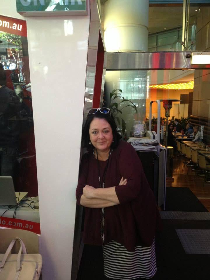 Wendy Harmer of The Hoopla Radio Show.  www.eaglewavesradio.com.au
