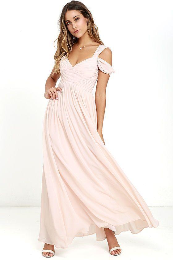 Best 25  Pink maxi ideas on Pinterest | Peach maxi skirts, Maxi ...