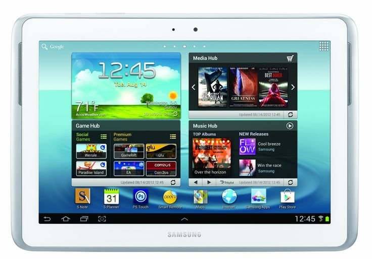 Samsung Galaxy Note 10.1 (16GB, White)  #Best gifts for christmas #gadgets #samsung galaxy note