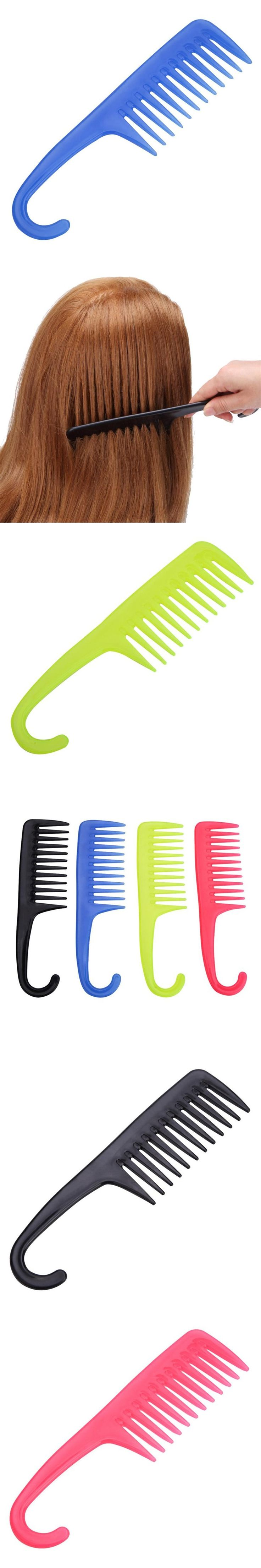 Hair Styling Comb Set Professional Black Hairdressing Brush Salon Barbers X81825Down