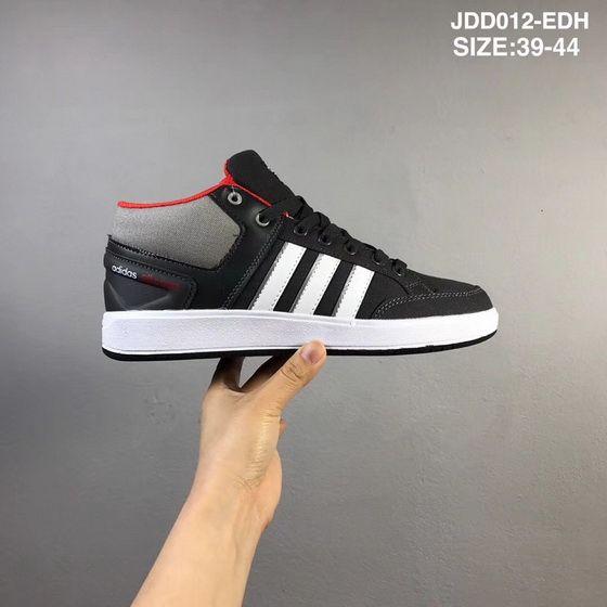 ff605395bd69 Adidas Cf All Court Mid Core Black White Medium Grey Red Original 2018 Shoe