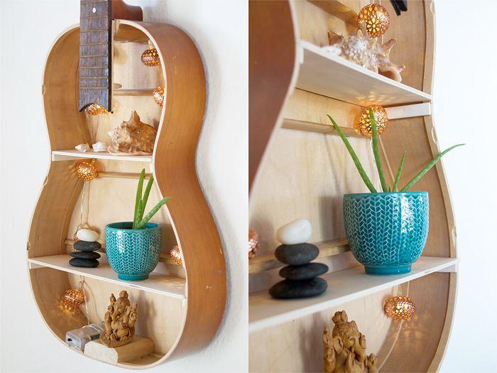 {DIY} Bau dir dein eigenes Gitarren Regal! - Anleitung