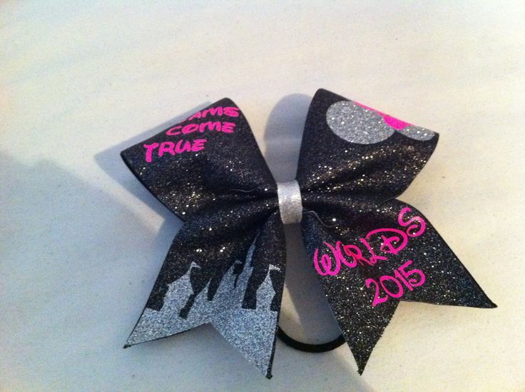 Cute !! Cheer bow