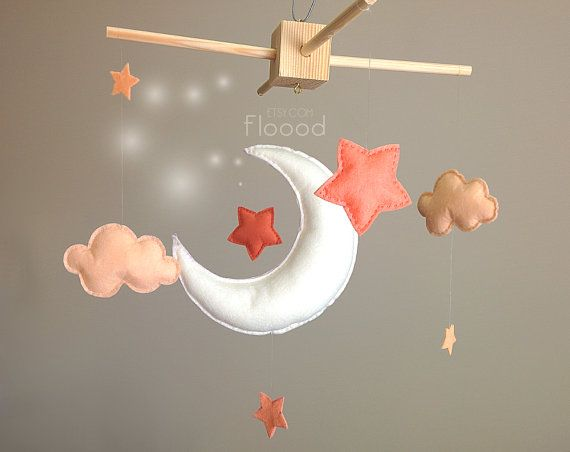 Hey, I found this really awesome Etsy listing at https://www.etsy.com/listing/205082818/baby-mobile-moon-and-stars-cot-crib