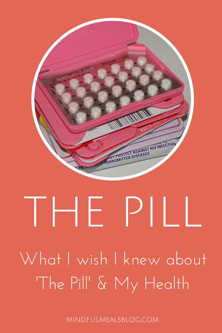The Pill: What I Wish I Knew about the Pill and My Health