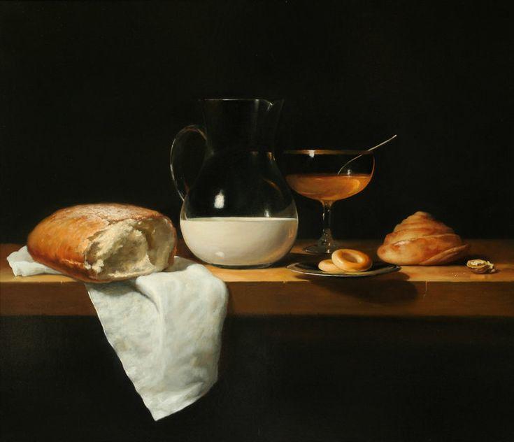 Yuri Gherman (stage name of two artists Yuri Bakrushev and Sergei Gherassimov). Bread Milk Honey